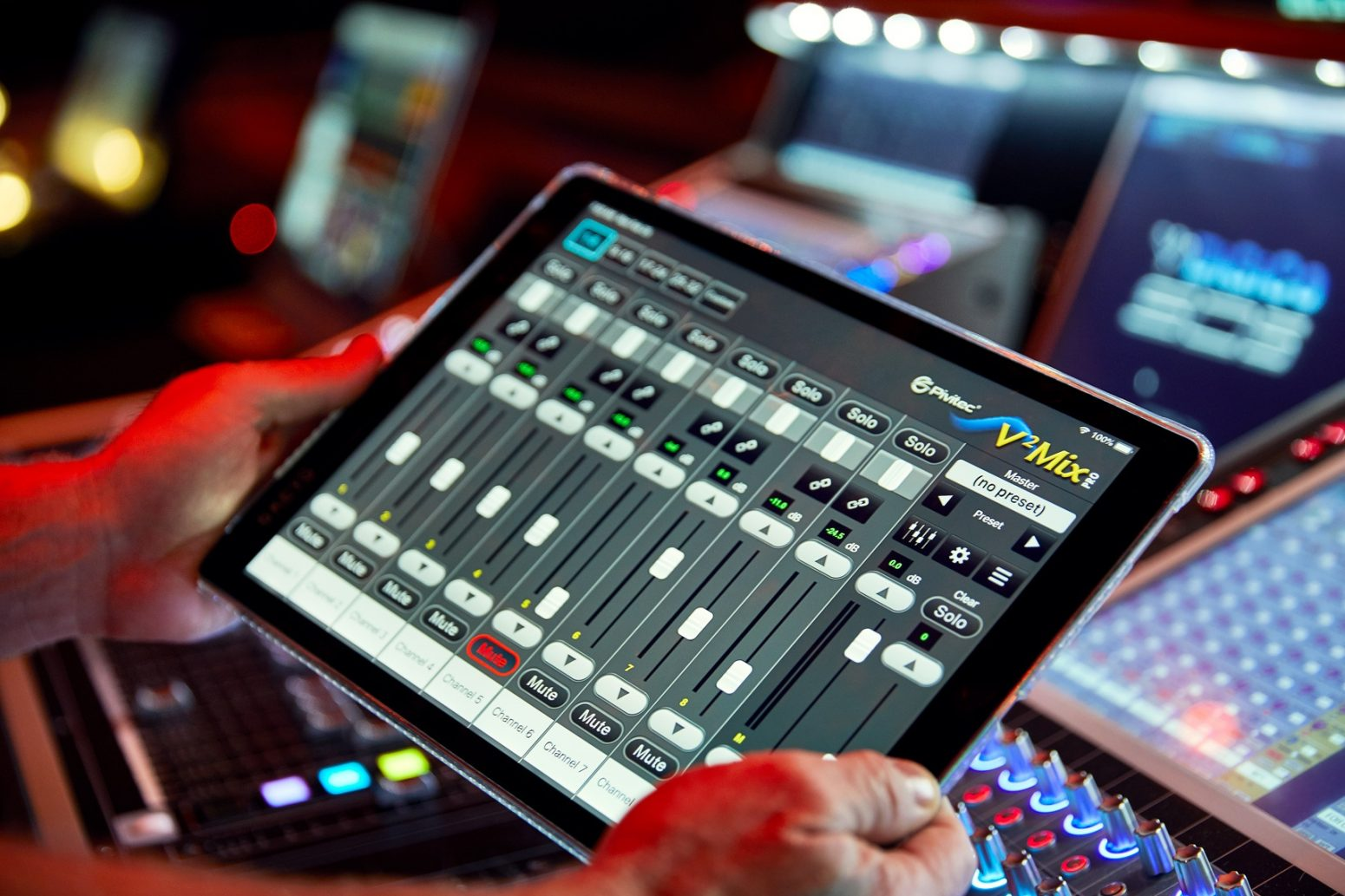 Paragon's audio designs for First Baptist Church Naples included this sound system management software.