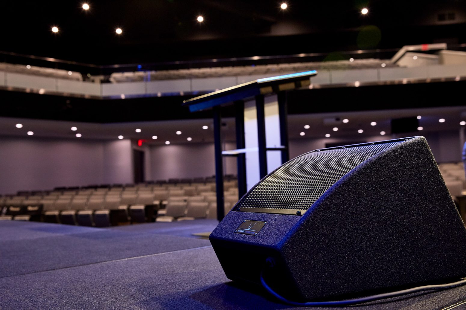 For AVL sound in their audio designs, Paragon 360 uses the latest in speakers, like this.